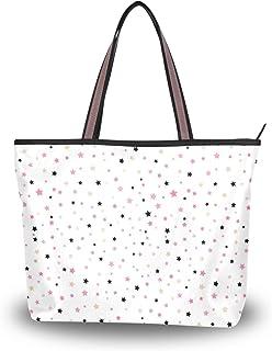 My Daily Damen-Schultertasche, buntes Sternmuster, Handtasche