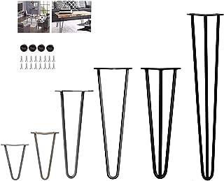4 patas de mesa de horquilla – estable altura de mesa est