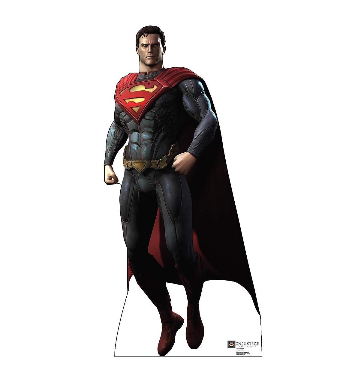 Advanced Graphics Superman Life Size Cardboard Cutout Standup - DC Comics Injustice: Gods Among Us