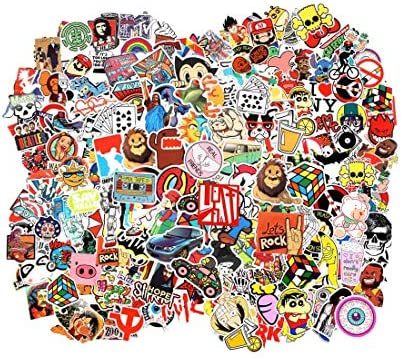 Cool Random Stickers 55 700pcs FNGEEN Laptop Stickers Bomb Vinyl Waterproof Stickers Variety product image