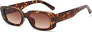 Rectangle Sunglasses for Women Retro Fashion Sunglasses...