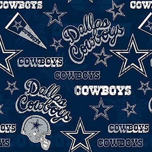 Cowboys Flag Cotton Fabric