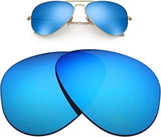 Replacement Lenses for Ray-Ban Aviator RB3025 62mm for Men for Women,UV Protection