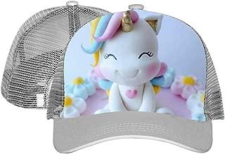 Unisex Adult Trucker Unicorn Hat Fashion Adjustable Mesh Cap Baseball Cap