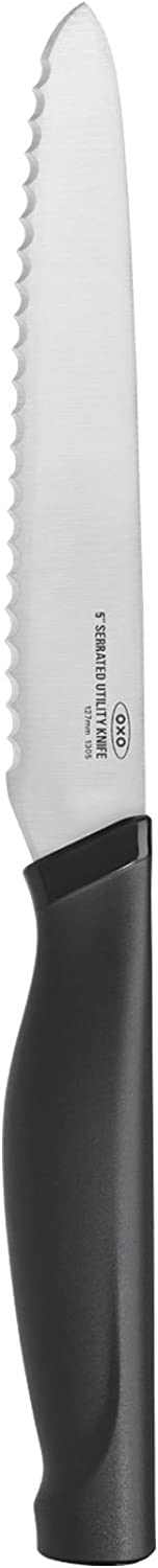 Popular product OXO Good Brand Cheap Sale Venue Grips 5-in Utility Serrated Knife