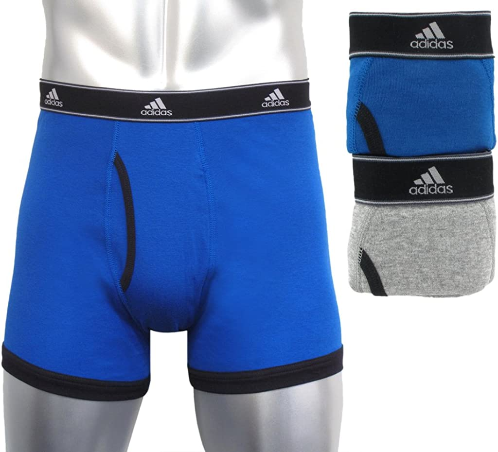 adidas Men's Athletic Comfort Climalite 2-Pack Boxer Brief
