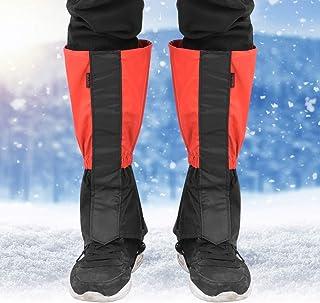 Anti-crack 1 par vindtäta snöskor för snöskor, snöbyxor, klättring för vinteraktiviteter utomhus skidåkning campingvandring