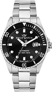 Philip Watch - Reloj para Hombre, Colección Caribe, de Acero Inoxidable - R8223216003