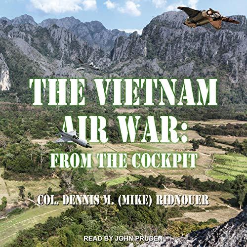 The Vietnam Air War audiobook cover art