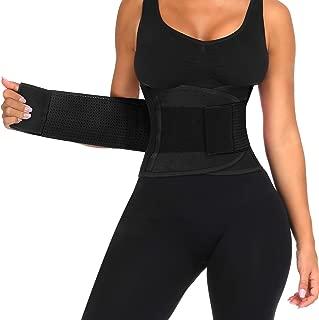Women's Waist Trainer Belt, Back Brace for Lower Back...