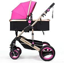 MEI XU Carriolas Puede Estar acostado el Invierno y el Verano Cuatro amortiguadores Carrito de bebé Sillas de Paseo (Color : 6#)