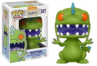 Funko Reptar: Nickelodeon Rugrats x POP! Animation Vinyl Figure & 1 POP! Compatible PET Plastic Graphical Protector Bundle [#227 / 13981 - B]