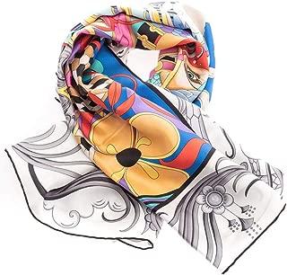 Luxury Fashion | Bulgari Womens 243743 Grey Foulard | Fall Winter 19