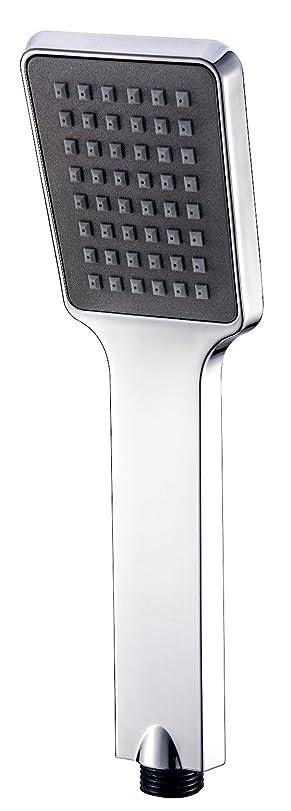 冗談でシンボル本会議アイクールジャパン 浴び心地を追求したシャワーヘッド ブラックウルフ クローム×ブラック ik-6025F