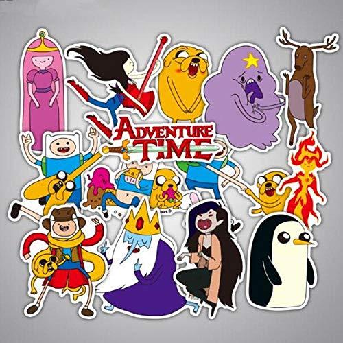 LLTZD 29 Stks/partij Anime Avontuur Tijd Graffiti Stickers Merken Voor Bagage Koffer Skateboard Stickers Pvc Waterdichte Stickers Stickers