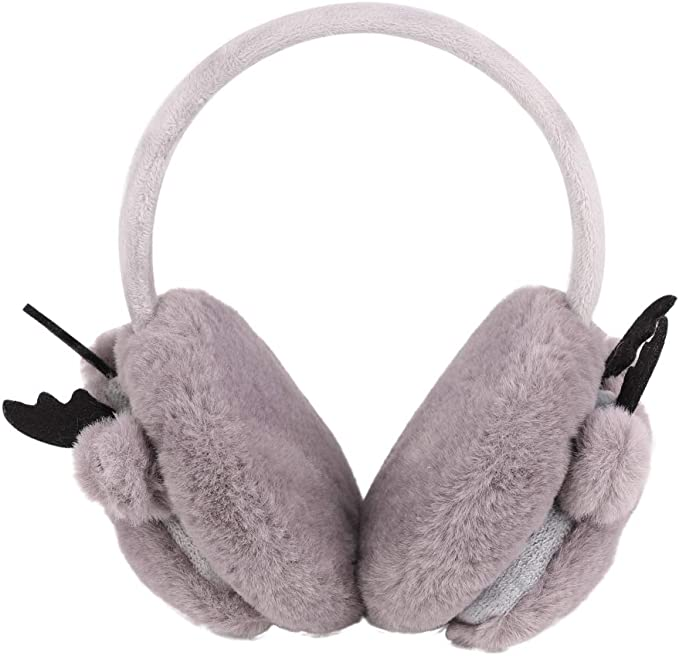 Unisex Kid Adult Winter Cartoon Earmuff Ear Warmer Cover Muffs Earwarmer DS