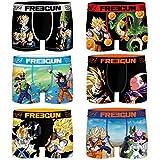 FREEGUN Pack Dragon Ball Z Talla M, Surtido 6pcs Hombre Pk1234