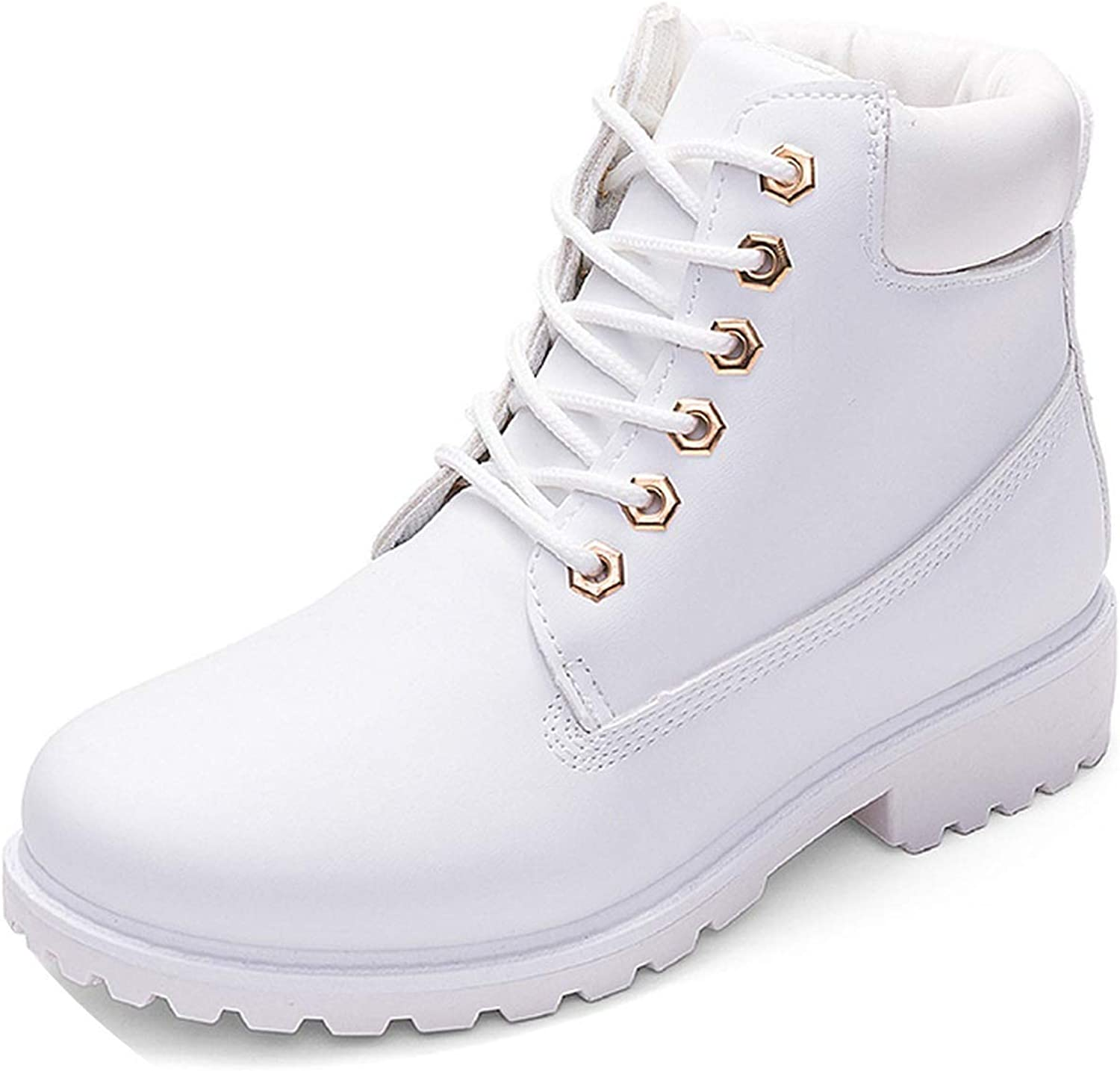 Meet- fashion Women Ankle Boots Woman Snow Boots for Girls Ladies Work shoes Plus Size 36-41