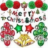 ZWYCEX Conjunto al por Mayor de Globo película Hinchable decoración con Globos Decoración de Navidad Conjunto Feliz Año Nuevo Aluminio de Dibujos Animados ( Color : 1 )