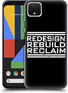 Official WWE Redesign, Rebuild, Reclaim Seth Rollins Hard Back Case Compatible for Google Pixel 4 XL