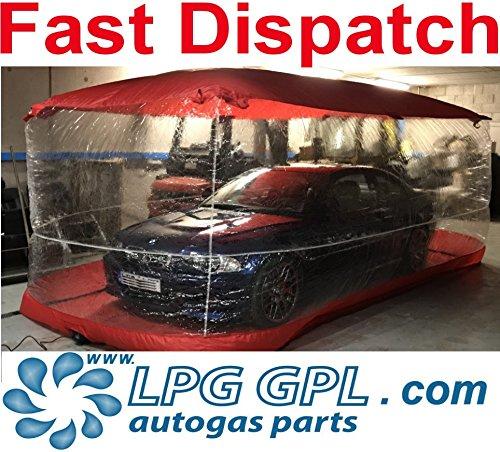 Car Air Bubble Aufblasbare Aufbewahrungskapsel für Auto, Größe 5,4 x 2,5 x 2,4 m.