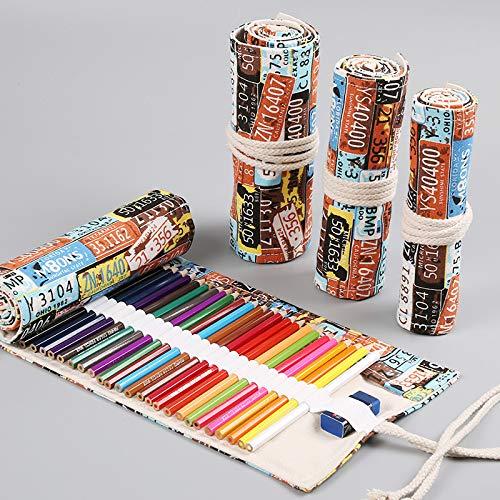 Painting Brushes Cases Holder Paint Brush Bag Roll Up Art for Artist Draw Pen Watercolor Multi Slots-36