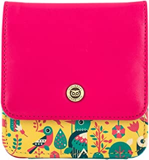 Chumbak Tropical Birds Pocket Wallet- Multi color