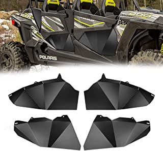 RZR 4 Lower Half Door Insert Panels for 2014-2019 Polaris Razor 900 1000 XP4 Turbo 4 Seater Aluminum Bottom Doors