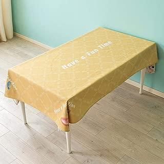 Mantel Lindo perro Mantel a prueba de agua Mantel de algodón Mantel de lienzo Mantel de Tela mesa de café Rectangular Mantel mesa Redonda Mantel de mesa 100 140 cm @ 3