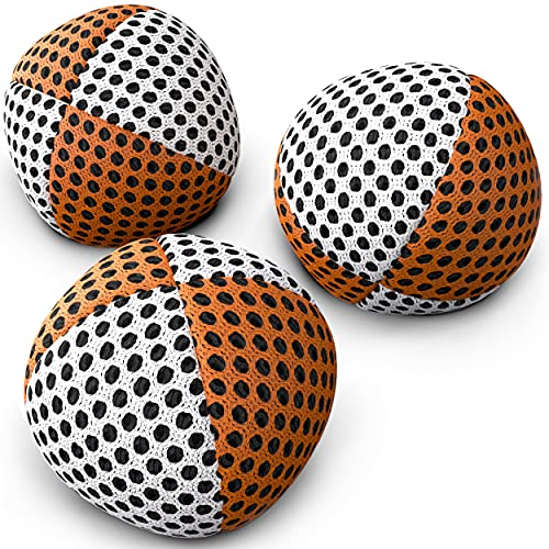 speevers Juggling Balls for Beginners Set of 3 70g Juggling Bean Bags- Durable Balls - Soft Juggle...