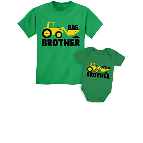 Going to be a Big BROTHER BOYS T-Shirt ANIMALS Kids New Baby Announcement
