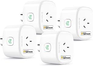 Meross Smart Plug Works with HomeKit, 4 Piece