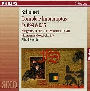 Schubert: Complete Impromptus, D.899 & 935