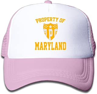 Property Of APG USA Facility Shield Insignia Youth Half Mesh Hat Cap
