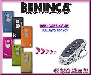 Ferretería Ferretería para puertas de garaje Clones Skj Mini 433.92MHz compatible emisor manual para