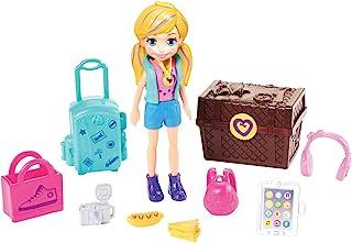 Polly Pocket, Pack de modas, Muñeca para niñas de 4 años