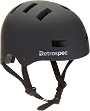 Retrospec CM-1 Classic Commuter Bike/Skate/Multi-Sport Helmet with 10 Vents