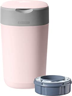 tommee tippee nappy bin pink