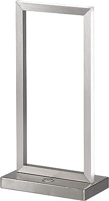 Wofi Kiom 8159.01.63.8000 Skip Lampe de table LED avec variateur tactile 3 niveaux Rouge 10 W 750 lm