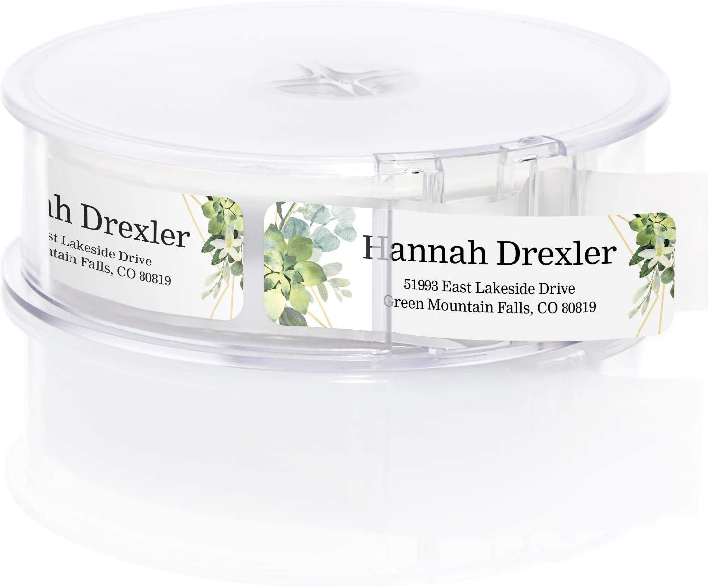 Greenery Frames Rolled Address Labels Personalized Roll of 250 New Free Shipping Superlatite