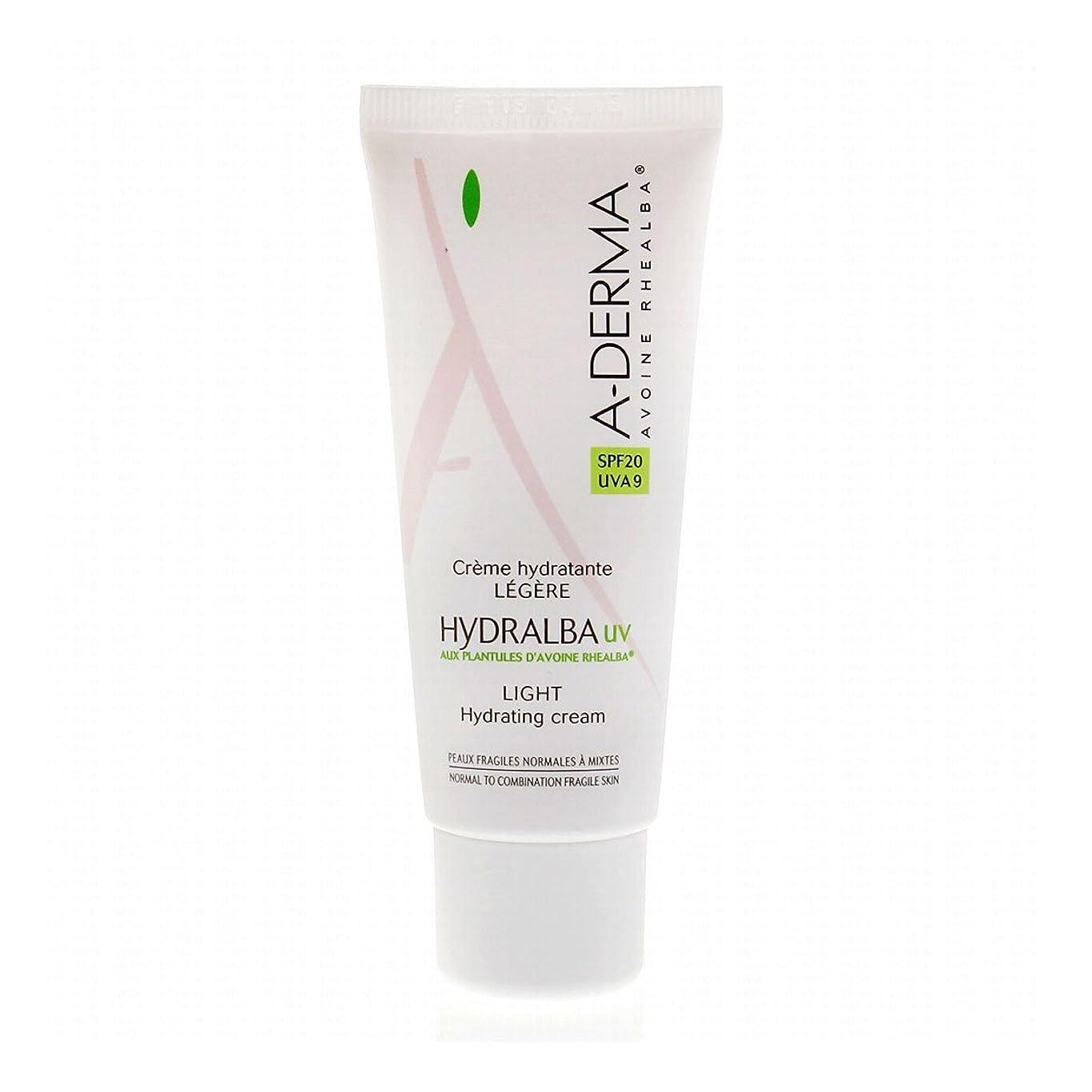 せせらぎ深くダンスA-derma Hydralba Uv Light Hydrating Cream 40ml [並行輸入品]