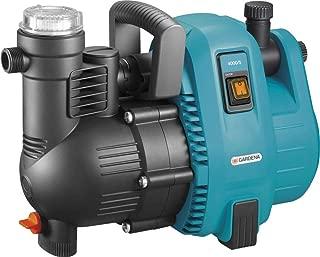 230/V Bomba de jard/ín 1300/W 5400/l//h Bomba de agua Multi 1300 5,4/M3//H con interruptor y man/ómetro