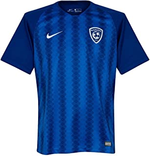 Nike 2018-2019 Al Hilal Home Football Soccer T-Shirt Jersey (Kids)