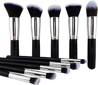 TYA GIRL Makeup Brushes Set Tool Pro Foundation Eyeliner Eyeshadow (Black)