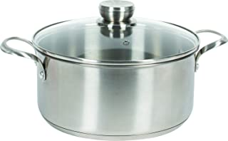 Frigidaire 11FFSPAN11 Ready Cook Cookware, 5 qt, Stainless Steel, 2 Pieces
