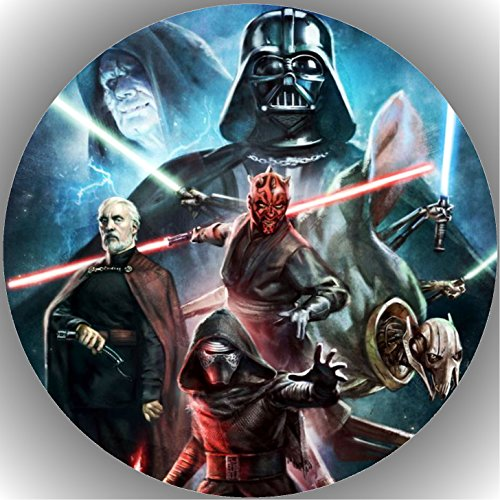 Fondant Tortenaufleger Tortenbild Geburtstag Star Wars T48