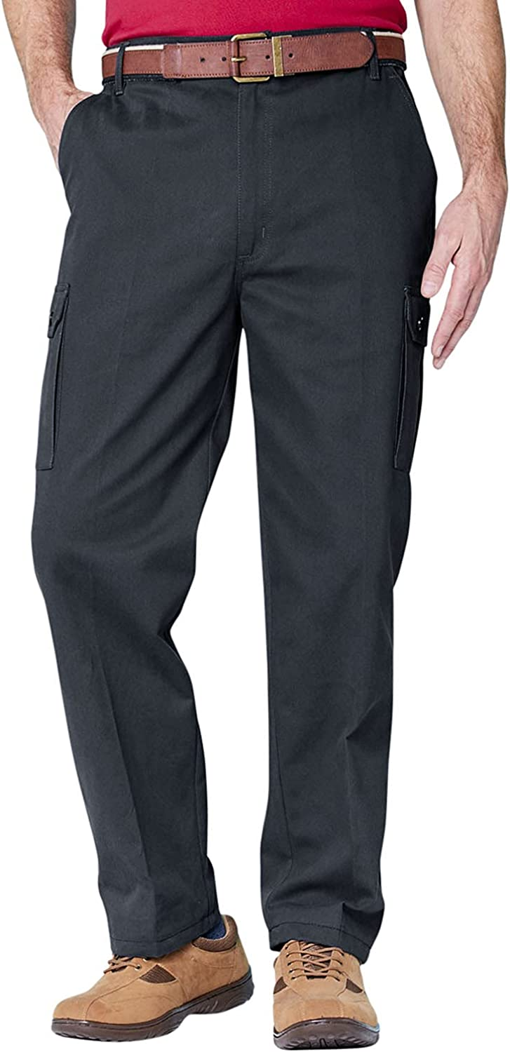 Attention brand Mens Cotton Cargo Combat Max 84% OFF Side Pants Elasticated Work Trouser