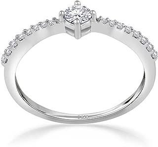 Malabar Gold and Diamonds 950 Platinum Ring for Women