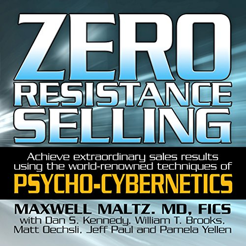 Zero Resistance Selling audiobook cover art