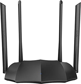 Tenda AC8 Router Inalambrico Ac1200 Puertos Gigabit, Wifi Doble Banda, Velocidad de 1167 Mbps, 4 Antenas Externas de 6dBi
